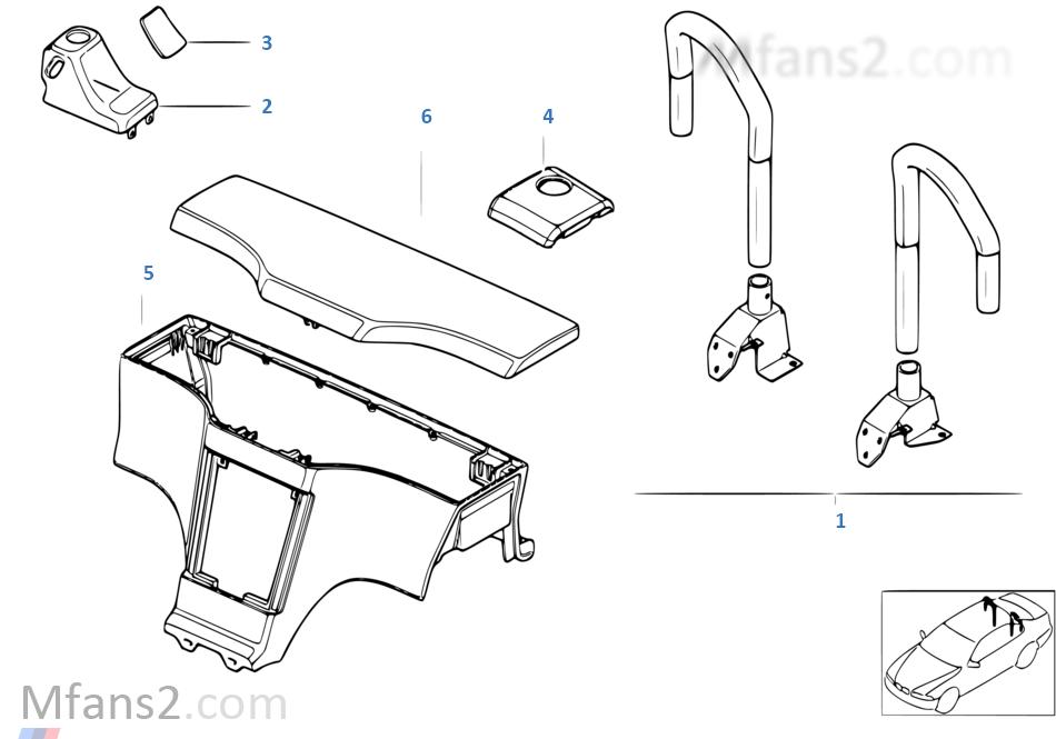 kit de montage arceau de capotage