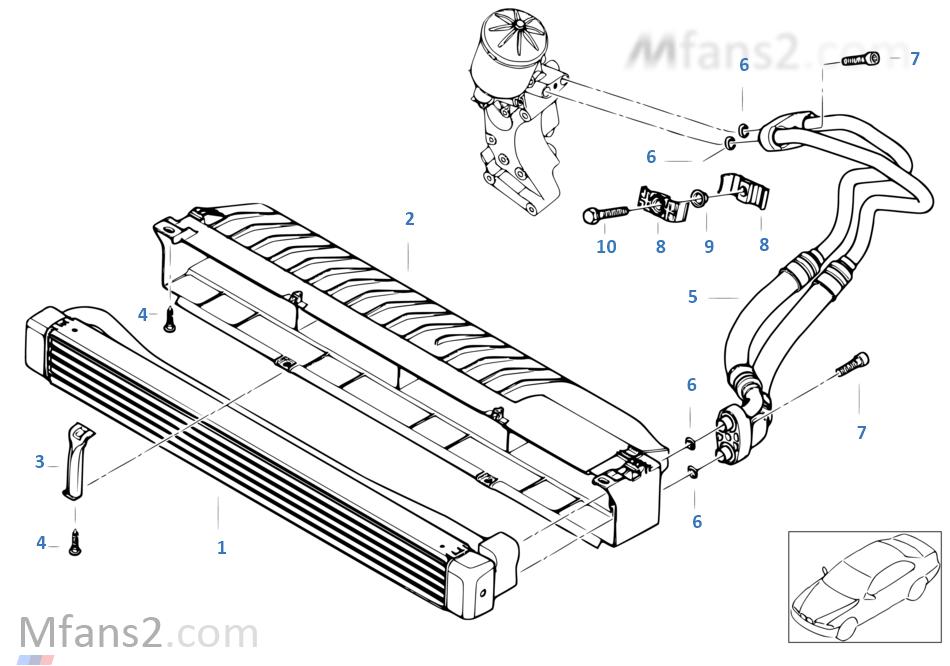 發動機油冷卻器