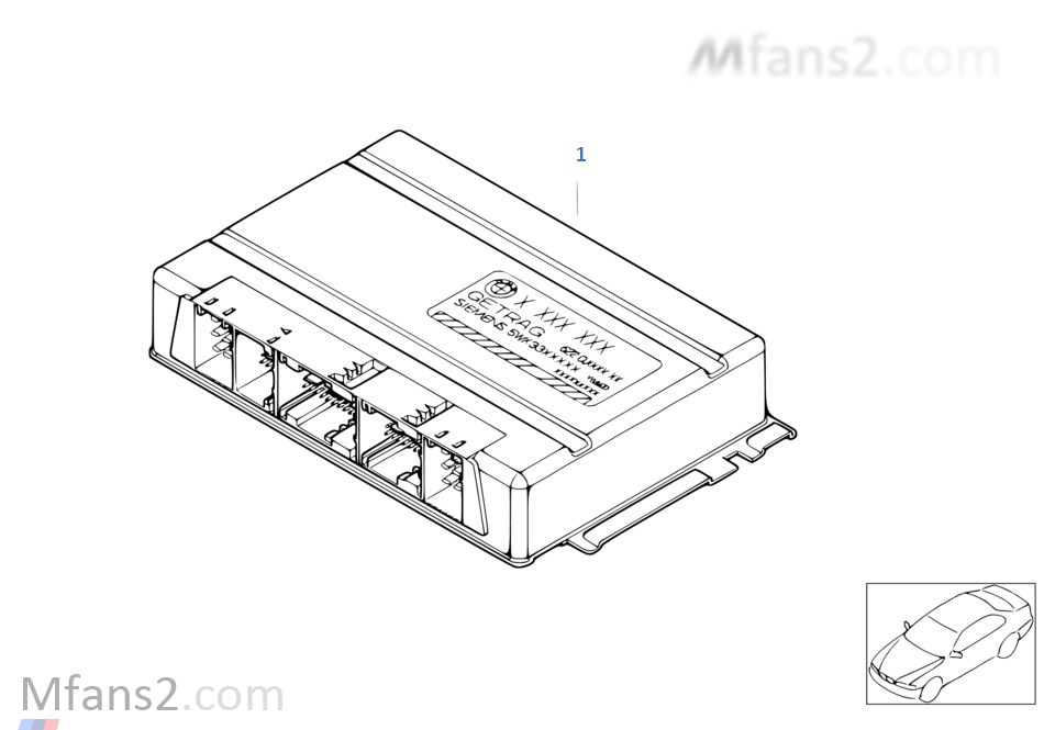 Programmed SMG control unit
