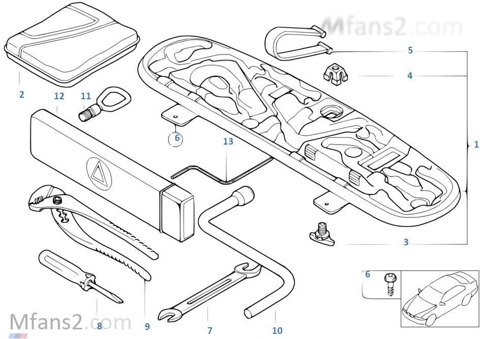 Car tool/Tool box