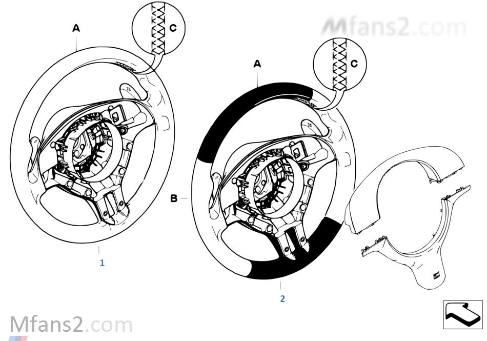 個性化 M 跑車方向盤 安全氣囊 SMG