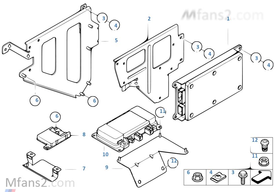 Single parts SA 633, trunk