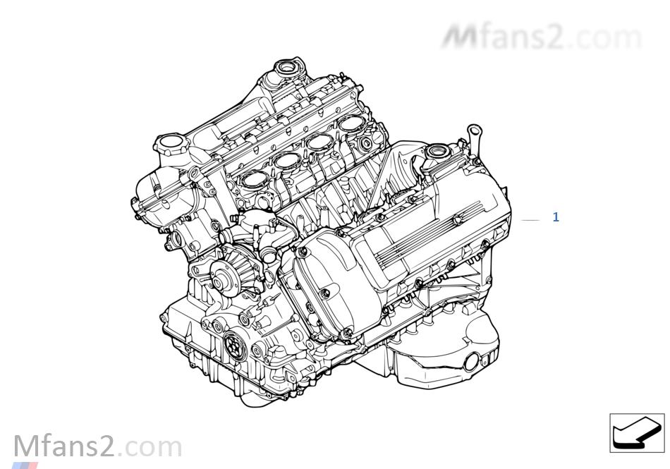 short engine | bmw 3' e92 m3 s65 europe  bmw m performance parts catalog