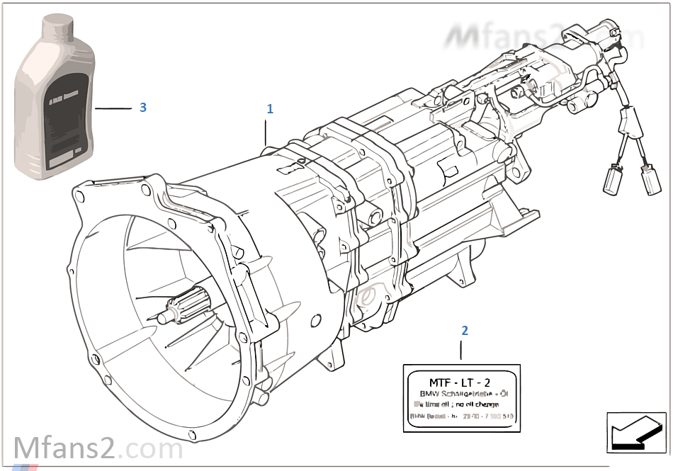 手動變速箱 S6S 420G (SMG)