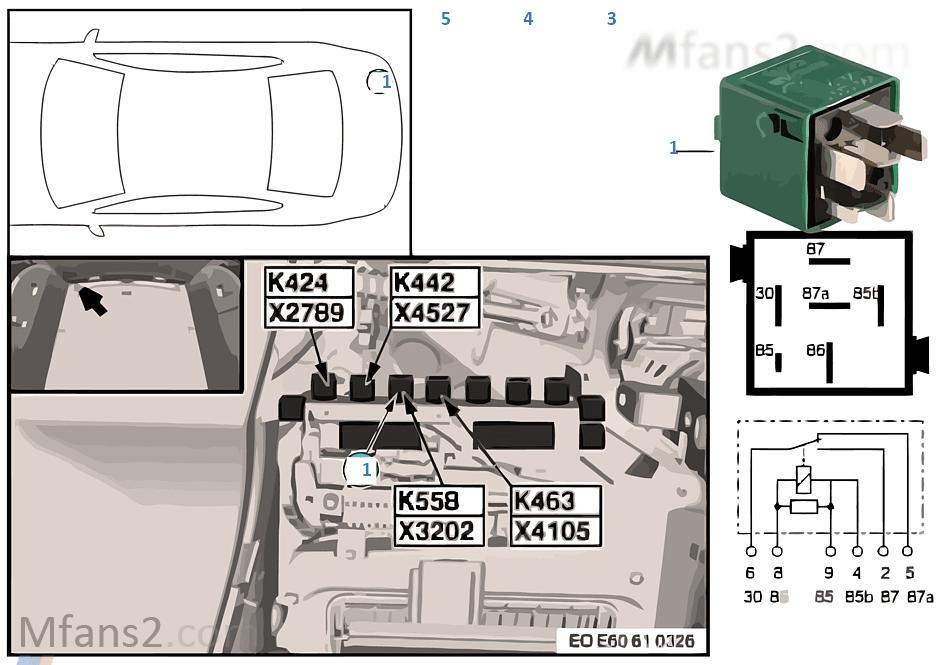 relais borne 15 k558