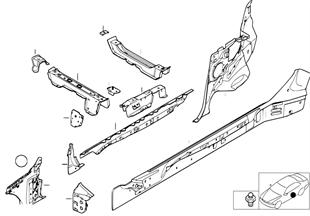 Детали бокового каркаса