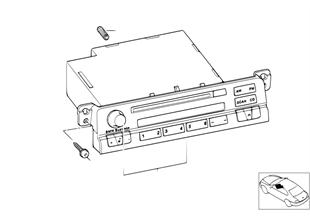 Umrüstung Radio Reverse auf Business CD