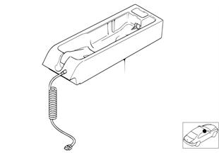 Einzelteile SA 627 Mittelkonsole