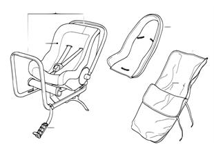 Детское сиденье BMW Baby Seat 0+