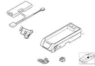 Детали SA 632 в центральной консоли