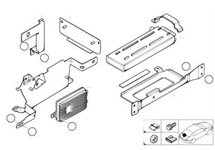 Детали SA 632 в багажнике