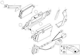 Детали багажного отделения SA 627