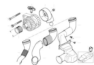 Детали генератора 120 А/140 А Valeo
