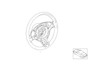 Спорт.рул.колесо из дерева с НПБ Smart