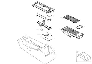 Vide-poches, pcs de montage/téléphone