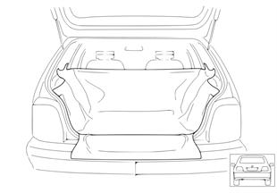 Защитный брезент для грузового отсека