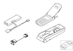 Детали серии V в центральной консоли