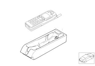 Einzelteile Siemens S10 Mittelkonsole