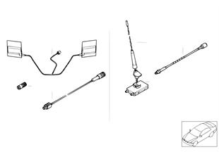 Einzelteile Apollo Telefonantenne