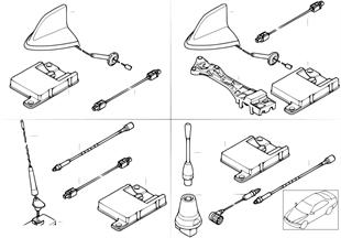 Детали Cordless для телефонной антенны