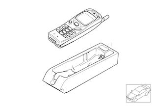 Детали Nokia 3110 в центральной консоли