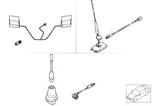 Einzelteile Siemens S10 Telefonantenne