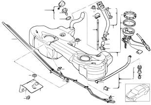 Serbatoio del carburante/pezzi montabili