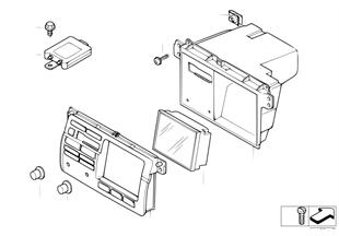Bordmonitor / TV-Verstärker