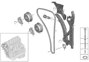 타이밍 밸브 트레인-캠축 타이밍 체인