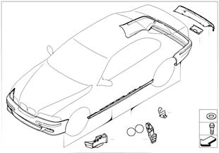 Nachrüstsatz M Aerodynamikpaket