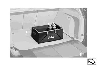 Ящик для багажного отделения, складыв.