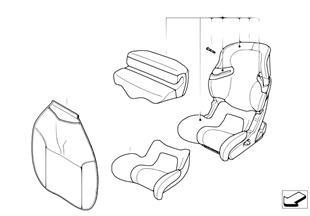 Детское сиденье BMW Junior Seat I-II