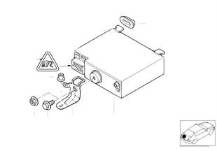 Οθόνη υπολογιστή οχήματος — ραδιόφωνο