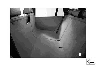 Универсальное покрывало для зад.сидений