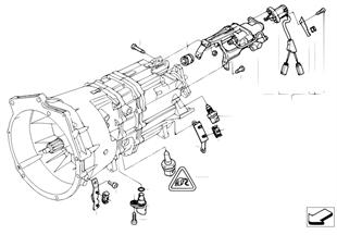 Getriebe Anbauteile SMG
