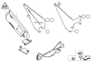 Детали SA 630 в багажнике