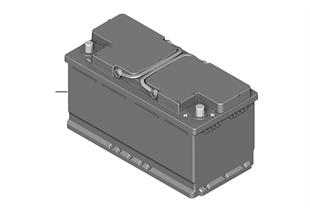 오리지널 BMW 배터리