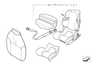 Сиденье BMW Junior Seat I-II Isofix