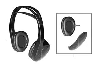 적외선-헤드폰