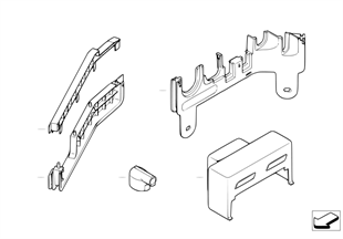 Различные детали для ремонта проводов