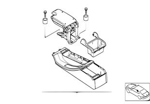 Комплект доосн.передним подлокотником