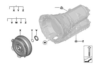 GA8HP45Z 토크 컨버터/씰 엘리먼트