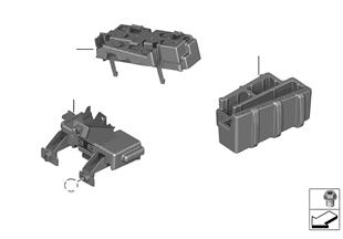 홀더,보디 컨트롤 유닛과 모듈