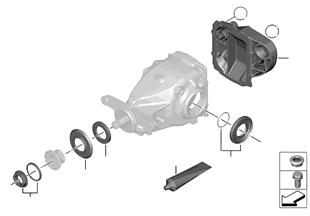Hinterachsgetriebe-Dichtungssatz Allrad