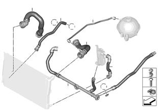 냉각시스템-물호스