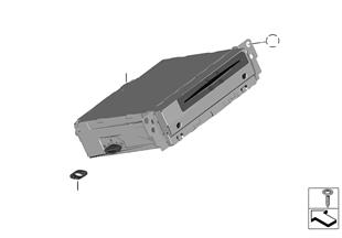 audio navigation elektroniksysteme bmw 1 39 f21 m135ix. Black Bedroom Furniture Sets. Home Design Ideas