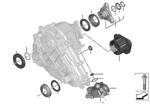 트랜스퍼 케이스, 개별 부품, ATC 45L
