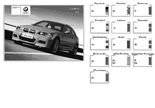 사용자 설명서,E46/2 M3 + E46/C M3