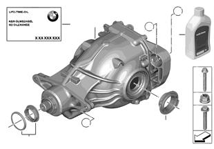 Hinterachsgetriebe-An-/Abtrieb Allrad
