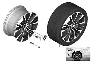 BMW 경합금 휠, M 더블 스포크 599M